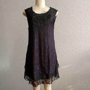 My Pretty Angel Black Lace Dress